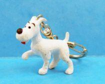 Tintin - Figurine pvc Plastoy - Milou (porte-clés) 01