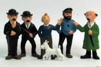 Tintin - Pvc Figures EL Portugal - Set of 6 figures