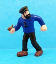 Tintin - Schleich PVC figure 1985 - Captain Haddock
