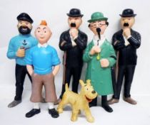 Tintin - Set of 6 8\'\' Squeeze Toys
