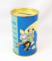 Tintin - Tirelire Tôle Ronde Tropico Diffusion