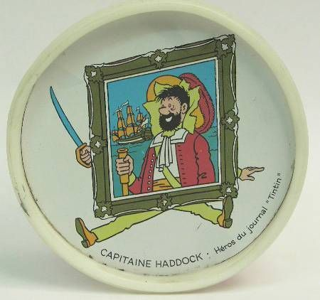 Tintin - Under glass Tonimalt Haddock
