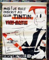 Tintin - Vinyl Advertising \'\'Club Tintin View-Master\'\' (Jean LE MOING) 1961