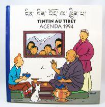Tintin au Tibet - Casterman - Agenda 1994