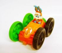Tiny Toons - McDonald\'s Premium - vehicle (Buster Bunny/Elmira)