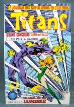 Titans n°80 - Collection Super Héros LUG - Septembre 1985 - Mikros Dazzler 01