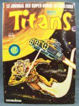 Titans n°40 - Collection Super Héros LUG - Mai 1982 - La Guerre des Etoiles 01