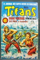 Titans n°75 - Collection Super Héros LUG - Avril 1985 - La Guerre des Etoiles 01