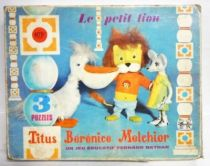 Titus le Petit Lion - Boite de 3 Puzzles 10 pièces - Fernand Nathan