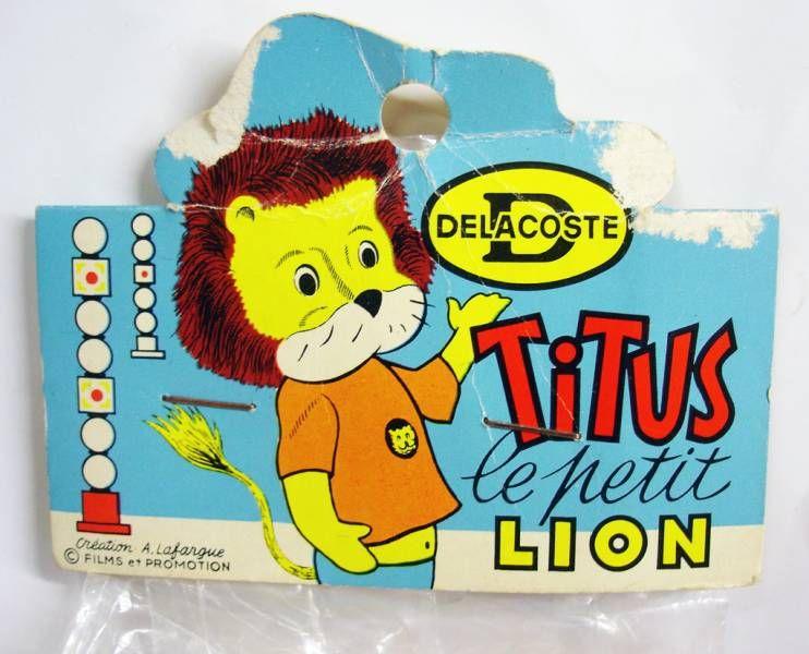 Titus le Petit Lion - Pouet Delacoste Taille Standard - Titus (neuf sous sachet)