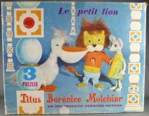 Titus le Petit Lion - Puzzles x 3 en Boite - Titus Bérénice Melchior