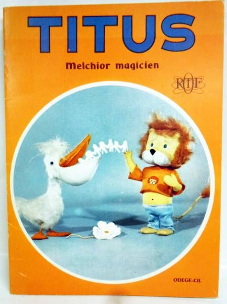 Titus the little Lion - Book Odege-Cil Editions - Magical Melchior