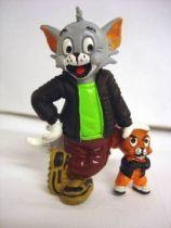 Tom & Jerry black flight-jacket - Comic Spain 1989