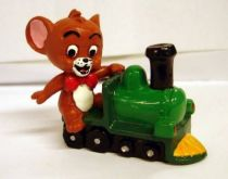 Tom & Jerry Kids - Jerry ride a train - Comic Spain 1992