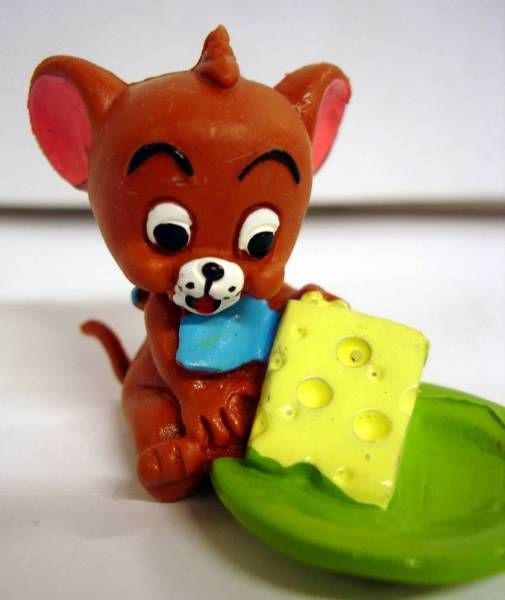 Tom & Jerry Kids - Jerry with cheese - Comic Spain 1992
