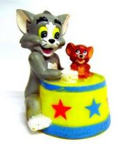 Tom & Jerry to Circus - Vinyl figures 1993