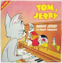 "Tom et Jerry - Disque 45Tours - \""Radio Jerry, La Pause Fromage\"" - EMI 1983"