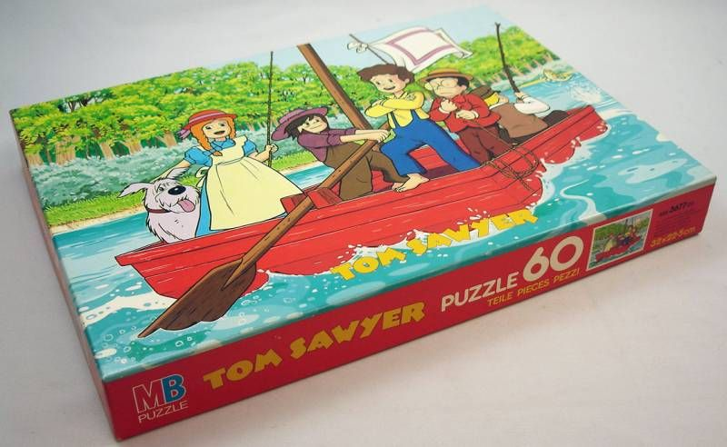 Tom Sawyer - 60 pieces Jigsaw Puzzle MB (ref.625367702)