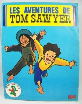 Tom Sawyer - AGE stickers collector