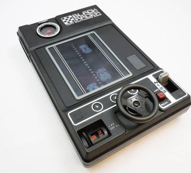 Tomy Electronics - Handheld Electro-Mechanical Game - Black Racer (Japan version)