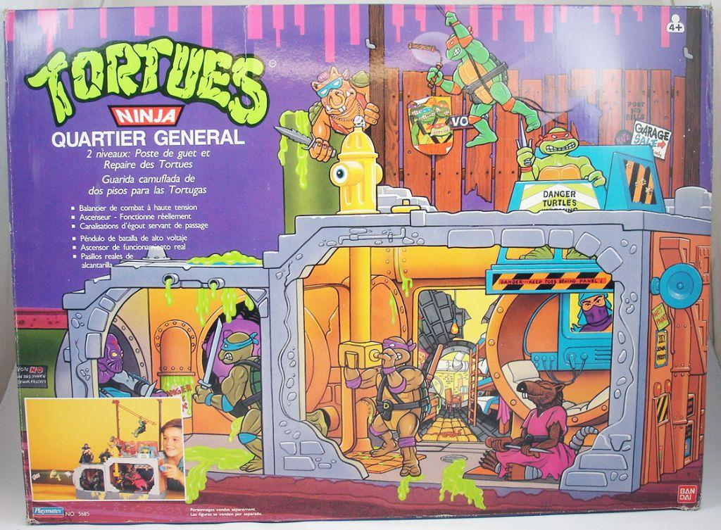 Tortues ninja 1989 quartier g n ral egouts des tortues ninja - Le nom des tortue ninja ...