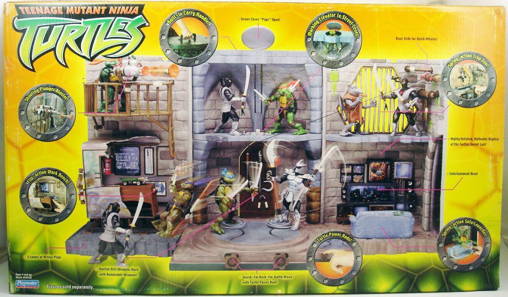 Tortues ninja 2003 turtle lair playset - Tortue ninja 2003 ...