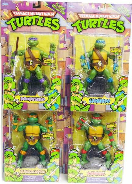 Tortues ninja 2012 classic collection set des 4 - Michaelangelo tortue ninja ...