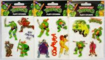 Tortues Ninja - Série de 3 sets de puffy stickers