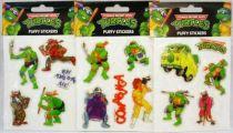 Tortues Ninja - Série de 3 sets de puffy stickers