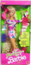 Totally Hair Barbie - Blonde Barbie - Mattel 1991 (ref. 1112)