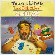 Touni et Litelle - Générique de la série TV - Disque 45Tours - Carrère 1989