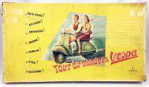 Tour du monde en Vespa - Jeu de Plateau - Capiepa 1953