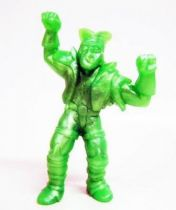Toxic Crusaders - Monochrome Figure - Bonehead (Green)