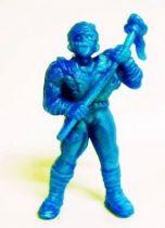 Toxic Crusaders - Monochrome Figure - Toxie (Blue)