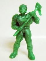 Toxic Crusaders - Monochrome Figure - Toxie (Dark Green)