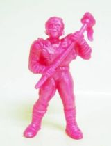 Toxic Crusaders - Monochrome Figure - Toxie (Fushia)