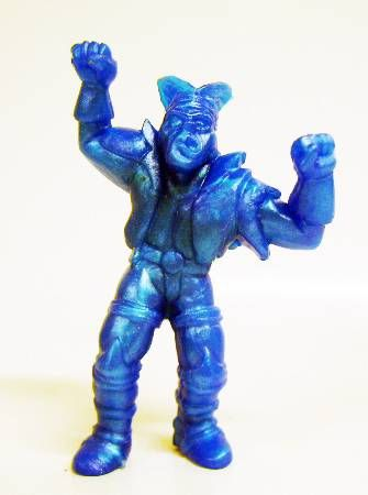 Toxic Crusaders - Yolanda Monochrome Figure - Bonehead (Blue)
