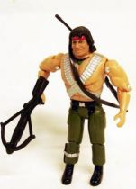Toy Island - 3\'\'3/4 Rambo action figure (loose)