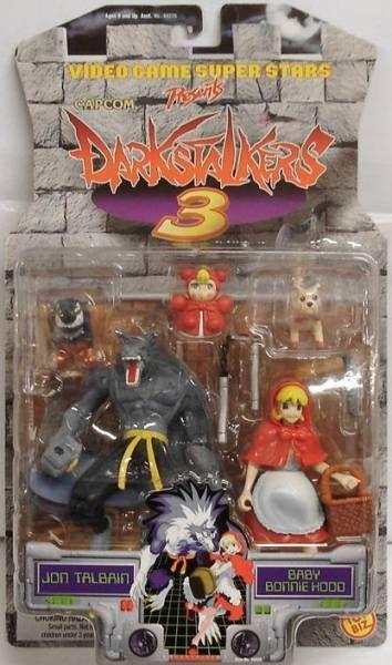 Toybiz - Darkstalkers 3 - Jon Talbain/Gallon & Baby Bonnie Hood/Bulletta