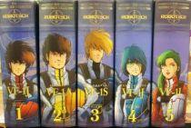 Toynami - Macross Masterpiece Collection vol. 1 to 5 (Rick, Ben, Roy, Max, Miriya)