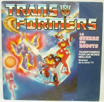 Transformers - Mini-LP Record - La Guerre des Robots - CBS Records 1987