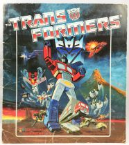 Transformers - Panini Stickers collector book 1986
