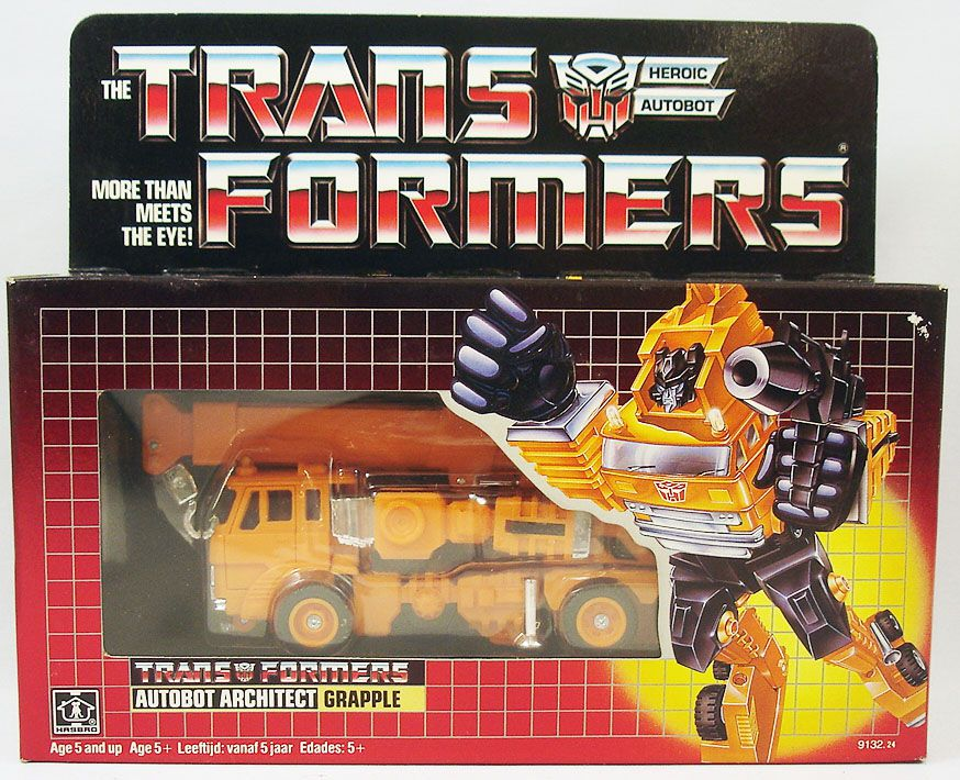 Transformers G1 - Autobot - Grapple
