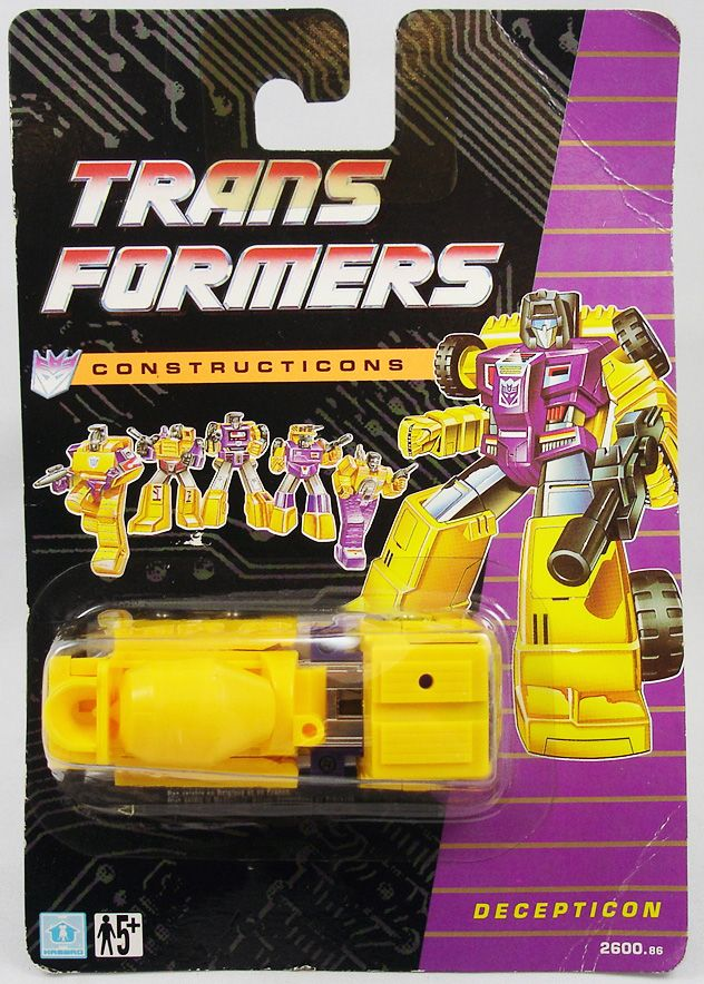Transformers G1 - Constructicon - Mixmaster (Exclusif Europe 1991)
