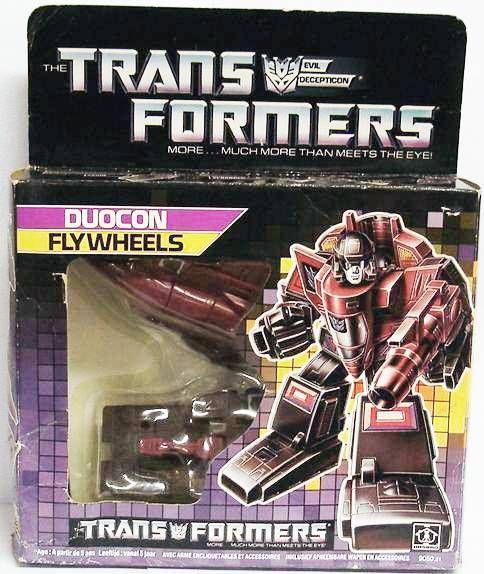 Transformers G1 - Duocon - Flywheels