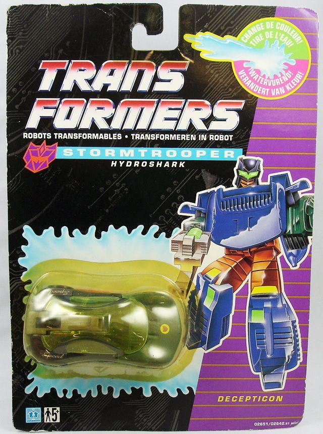 Transformers G1 - Stormtrooper - Hydroshark Hydradread (Exclusif Europe 1992)
