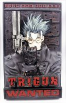 "Trigun - Palisades - ""Wanted\"" 3-D wall plaque"
