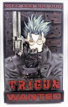 "Trigun - Palisades - Plaque murale 3-D \""Wanted\"""