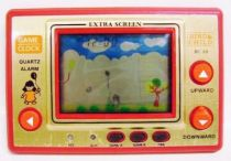Tronica (Game-Clock) - Handheld Game (Extra Screen) - Bird & Child (loose)