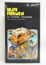 Tronica (Game-Clock) - Handheld Game (Vertical Screen) - Brave Firemen BF-34V (mint in box)